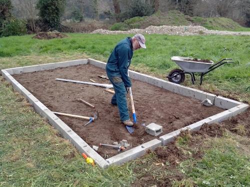 Comment poser un abri de jardin sans dalle beton maxi - Dalle en beton pour abri de jardin ...
